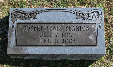 BLANTON, ROBERT LEWIS - Cumberland County, Virginia | ROBERT LEWIS BLANTON - Virginia Gravestone Photos