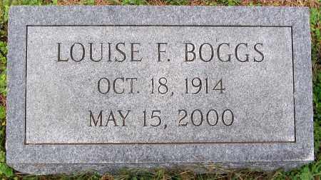 BOGGS, LOUISE F. - Cumberland County, Virginia   LOUISE F. BOGGS - Virginia Gravestone Photos
