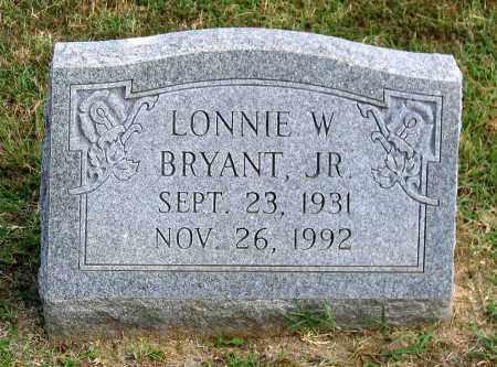 BRYANT, LONNIE W. JR. - Cumberland County, Virginia | LONNIE W. JR. BRYANT - Virginia Gravestone Photos
