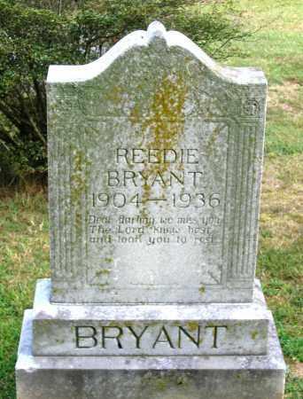 BRYANT, REEDIE - Cumberland County, Virginia   REEDIE BRYANT - Virginia Gravestone Photos