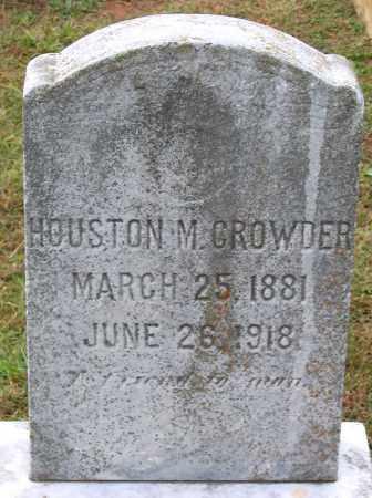 CROWDER, HOUSTON M. - Cumberland County, Virginia | HOUSTON M. CROWDER - Virginia Gravestone Photos