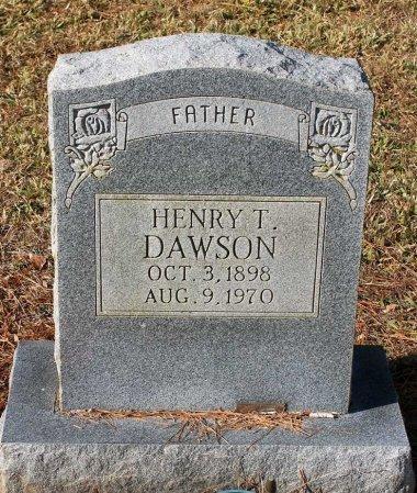 DAWSON, HENRY T. - Cumberland County, Virginia | HENRY T. DAWSON - Virginia Gravestone Photos