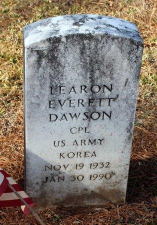 DAWSON, LEARON EVERETT - Cumberland County, Virginia   LEARON EVERETT DAWSON - Virginia Gravestone Photos