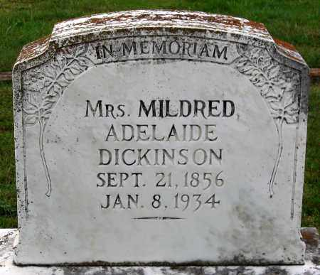 DICKINSON, MILDRED ADELAIDE - Cumberland County, Virginia | MILDRED ADELAIDE DICKINSON - Virginia Gravestone Photos