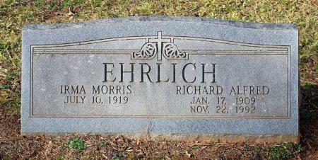EHRLICH, RICHARD ALFRED - Cumberland County, Virginia | RICHARD ALFRED EHRLICH - Virginia Gravestone Photos