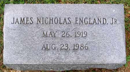 ENGLAND, JAMES NICHOLAS JR - Cumberland County, Virginia | JAMES NICHOLAS JR ENGLAND - Virginia Gravestone Photos