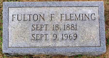 FLEMING, FULTON F. - Cumberland County, Virginia | FULTON F. FLEMING - Virginia Gravestone Photos