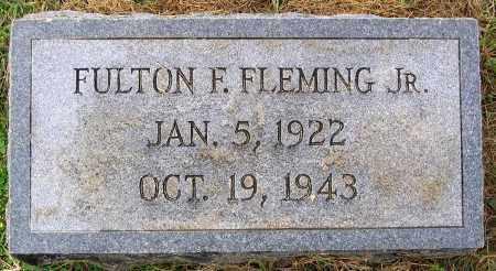 FLEMING, FULTON F. JR. - Cumberland County, Virginia | FULTON F. JR. FLEMING - Virginia Gravestone Photos