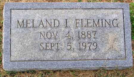 FLEMING, MELAND I. - Cumberland County, Virginia | MELAND I. FLEMING - Virginia Gravestone Photos