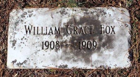 FOX, WILLIAM GRACE - Cumberland County, Virginia | WILLIAM GRACE FOX - Virginia Gravestone Photos