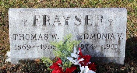 FRAYSER, THOMAS W. - Cumberland County, Virginia | THOMAS W. FRAYSER - Virginia Gravestone Photos