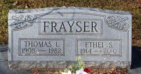 FRAYSER, ETHEL S. - Cumberland County, Virginia | ETHEL S. FRAYSER - Virginia Gravestone Photos