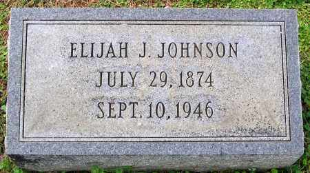 JOHNSON, ELIJAH J. - Cumberland County, Virginia | ELIJAH J. JOHNSON - Virginia Gravestone Photos