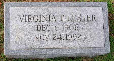 LESTER, VIRGINIA F. - Cumberland County, Virginia | VIRGINIA F. LESTER - Virginia Gravestone Photos