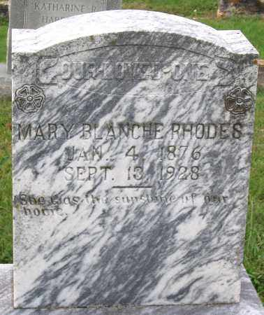 RHODES, MARY BLANCHE - Cumberland County, Virginia | MARY BLANCHE RHODES - Virginia Gravestone Photos