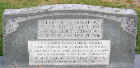 SCHALOW, MONA - Cumberland County, Virginia | MONA SCHALOW - Virginia Gravestone Photos