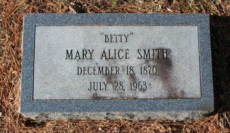 SMITH, MARY ALICE - Cumberland County, Virginia | MARY ALICE SMITH - Virginia Gravestone Photos