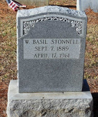 STONNELL, WILLIE BASIL - Cumberland County, Virginia | WILLIE BASIL STONNELL - Virginia Gravestone Photos