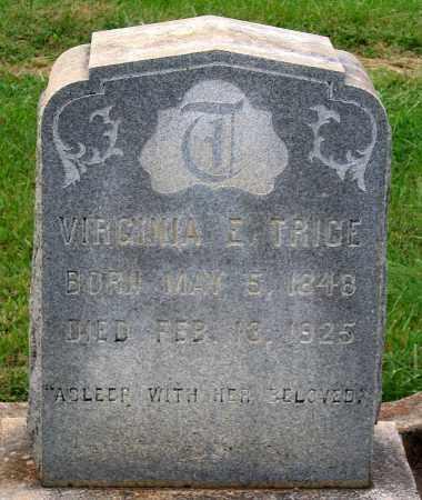 TRICE, VIRGINIA E. - Cumberland County, Virginia | VIRGINIA E. TRICE - Virginia Gravestone Photos