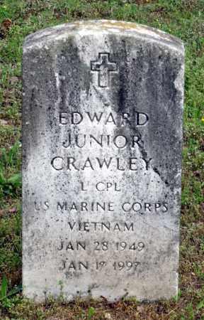 CRAWLEY, EDWARD JUNIOR - Dinwiddie County, Virginia | EDWARD JUNIOR CRAWLEY - Virginia Gravestone Photos