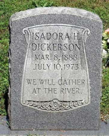DICKERSON, ISADORA H. - Dinwiddie County, Virginia   ISADORA H. DICKERSON - Virginia Gravestone Photos