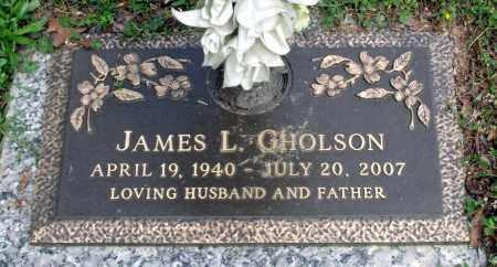 GHOLSON, JAMES L. - Dinwiddie County, Virginia | JAMES L. GHOLSON - Virginia Gravestone Photos