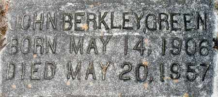 GREEN, JOHN BERKLEY - Dinwiddie County, Virginia | JOHN BERKLEY GREEN - Virginia Gravestone Photos