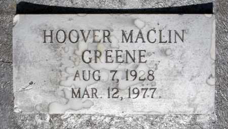 GREENE, HOOVER MACLIN - Dinwiddie County, Virginia | HOOVER MACLIN GREENE - Virginia Gravestone Photos