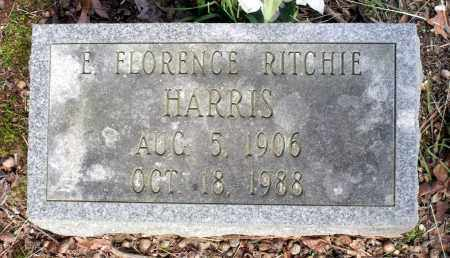 RITCHIE HARRIS, E. FLORENCE - Dinwiddie County, Virginia | E. FLORENCE RITCHIE HARRIS - Virginia Gravestone Photos