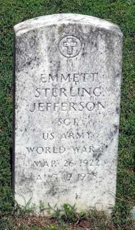 JEFFERSON, EMMETT STERLING - Dinwiddie County, Virginia   EMMETT STERLING JEFFERSON - Virginia Gravestone Photos