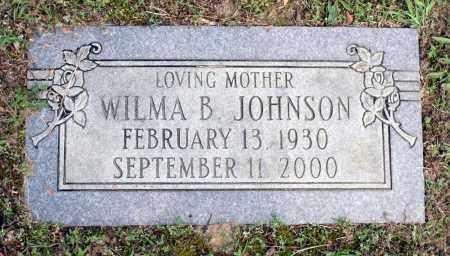 JOHNSON, WILMA B. - Dinwiddie County, Virginia   WILMA B. JOHNSON - Virginia Gravestone Photos