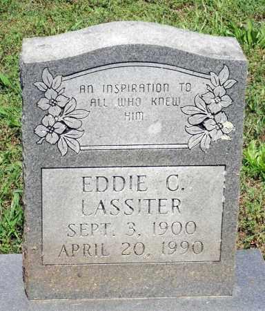 LASSITER, EDDIE C. - Dinwiddie County, Virginia   EDDIE C. LASSITER - Virginia Gravestone Photos