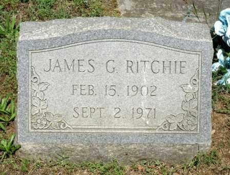 RITCHIE, JAMES G. - Dinwiddie County, Virginia | JAMES G. RITCHIE - Virginia Gravestone Photos