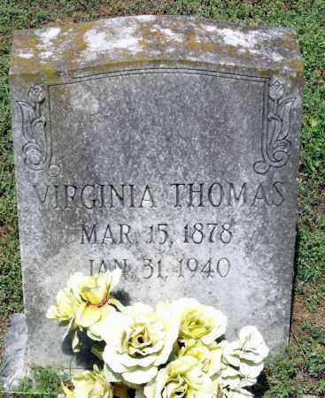 THOMAS, VIRGINIA - Dinwiddie County, Virginia | VIRGINIA THOMAS - Virginia Gravestone Photos