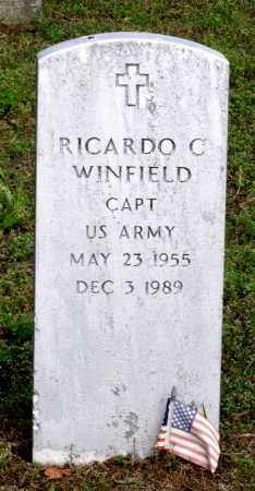 WINFIELD, RICARDO C. - Dinwiddie County, Virginia | RICARDO C. WINFIELD - Virginia Gravestone Photos