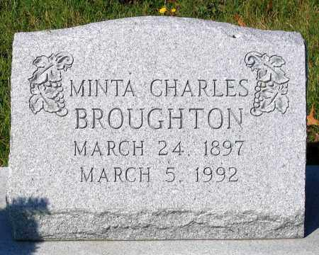 BROUGHTON, MINTA CHARLES - Essex County, Virginia | MINTA CHARLES BROUGHTON - Virginia Gravestone Photos