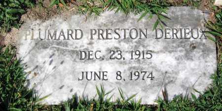 DERIEUX, PLUMARD PRESTON - Essex County, Virginia | PLUMARD PRESTON DERIEUX - Virginia Gravestone Photos