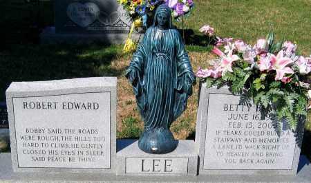 LEE, BETTY - Essex County, Virginia | BETTY LEE - Virginia Gravestone Photos