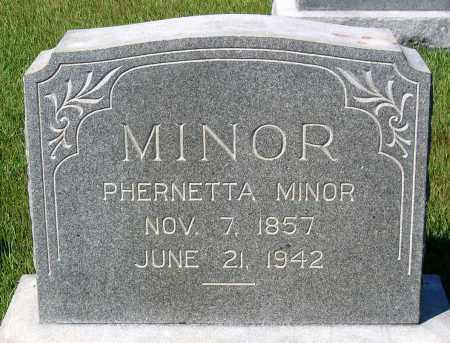 MINOR, PHERNETTA - Essex County, Virginia | PHERNETTA MINOR - Virginia Gravestone Photos