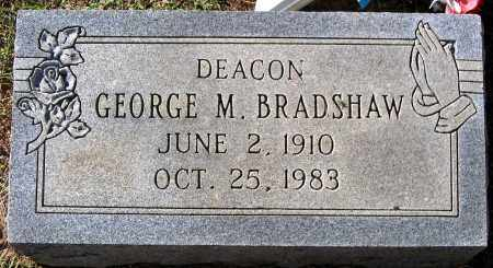 BRADSHAW, GEORGE M. - Fluvanna County, Virginia | GEORGE M. BRADSHAW - Virginia Gravestone Photos