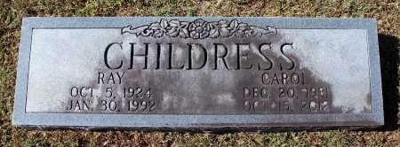 CHILDRESS, CAROL - Fluvanna County, Virginia | CAROL CHILDRESS - Virginia Gravestone Photos