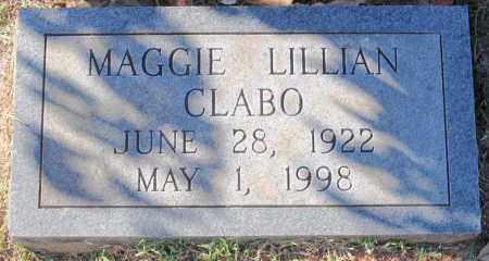 CLABO, MAGGIE LILLIAN - Fluvanna County, Virginia | MAGGIE LILLIAN CLABO - Virginia Gravestone Photos