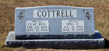 COTTRELL, CLAY REX - Fluvanna County, Virginia | CLAY REX COTTRELL - Virginia Gravestone Photos