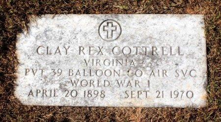 COTTRELL, CLAY REX - Fluvanna County, Virginia   CLAY REX COTTRELL - Virginia Gravestone Photos