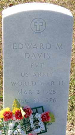 DAVIS, EDWARD M. - Fluvanna County, Virginia | EDWARD M. DAVIS - Virginia Gravestone Photos
