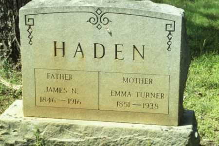 HADEN, JAMES N - Fluvanna County, Virginia | JAMES N HADEN - Virginia Gravestone Photos