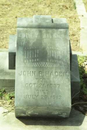 HADEN, JOHN R - Fluvanna County, Virginia | JOHN R HADEN - Virginia Gravestone Photos