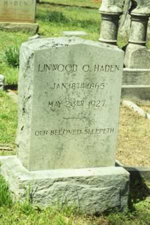 HADEN, LINWOOD O - Fluvanna County, Virginia   LINWOOD O HADEN - Virginia Gravestone Photos