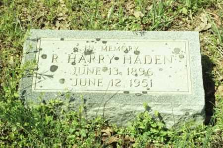 HADEN, R HARRY - Fluvanna County, Virginia | R HARRY HADEN - Virginia Gravestone Photos
