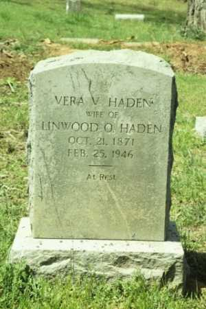 HADEN, VERA - Fluvanna County, Virginia   VERA HADEN - Virginia Gravestone Photos